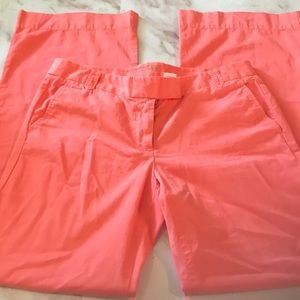 3/$25 J.Crew Coral Chinos
